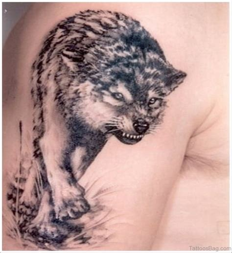 best wolf tattoo designs 51 wolf tattoos on shoulder