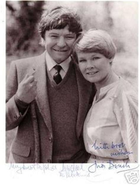 the michael williams and dame judi dench website homepage my biggest regret i wish i d had more children confesses