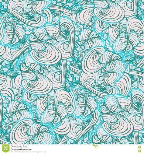 doodle pattern tiles seamlessly tiling wave pattern doodle style tile for