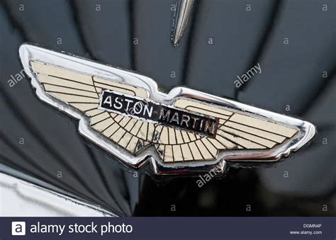 vintage aston martin logo old aston martin logo on the hood british car brand for
