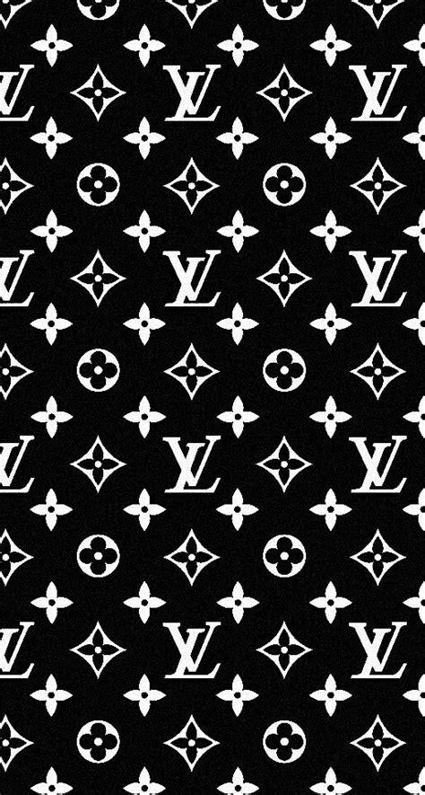 Louis Vuitton Lv Black White Logo Iphone 5 5s 5c 6 6s 7 Plus iphone wallpaper louis vuitton black nicolicious louis vuitton wallpaper
