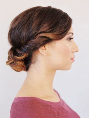 directions for easy updos for medium hair 17 best images about weddings on pinterest orange