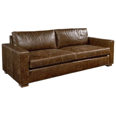 magnolia home tailor sofa magnolia home by joanna gaines southern sown leather sofa