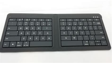 Microsoft Foldable Keyboard genuine microsoft universal bluetooth wireless foldable