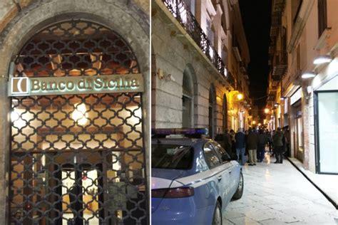 Orari Banco Di Sicilia by Marsala Colpo In Banca Banda Organizzata Rapina L