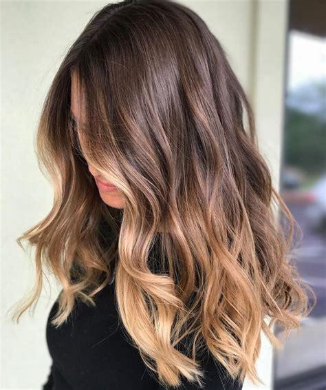 blonde highlights on brunette hair ov over 60 year old 42 fall winter brunette balayage highlights 2017 2018
