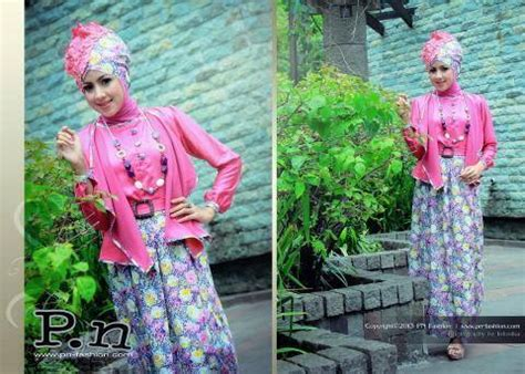 Gamis Pn Fashion Gm 1031 baju muslim gaya ready grab it pn fashion pn gm 0703 pink