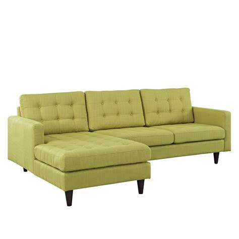 tufted sectional empress left facing button tufted upholstered sectional