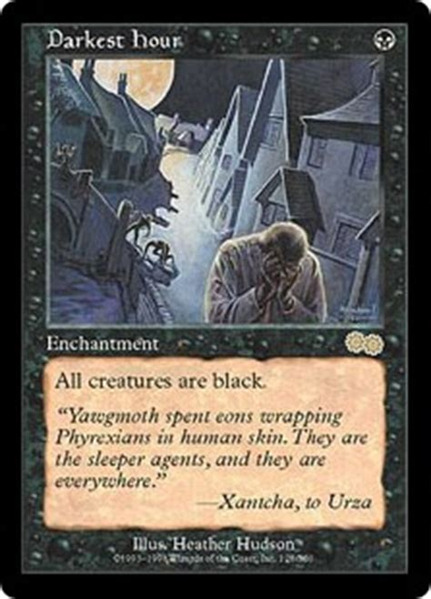 darkest hour mtg darkest hour urza s saga gatherer magic the gathering