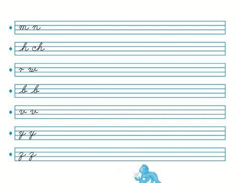 hojas para caligrafia pdf hojas de caligrafia para imprimir gratis