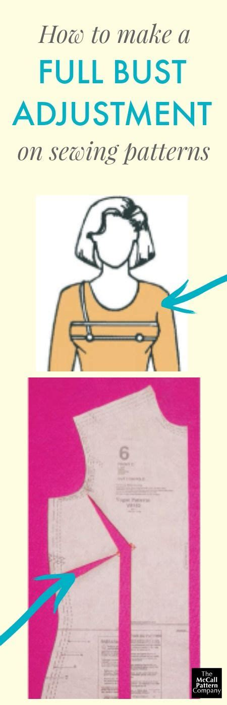 patterns for pirates full bust adjustment 1152 best images about sewing techniques on pinterest