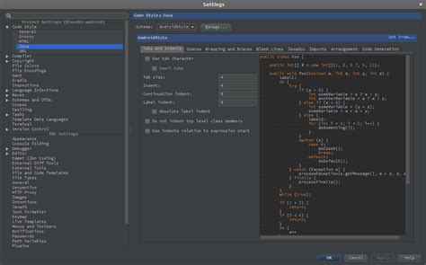 android code setting up android checkstyle in android studio software dev