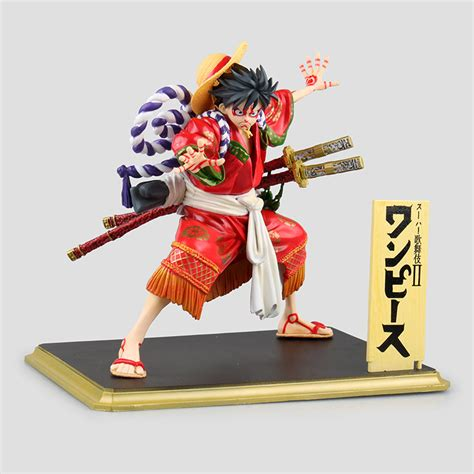 One Fever Toys Monkey D Luffy one luffy pop kabuki edition gear fourth monkey d luffy figure gum gum fruit figure