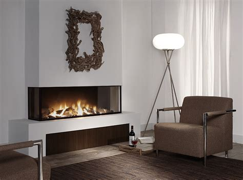 3 sided gas fireplace trisore 140 element4 three sided modern direct vent gas