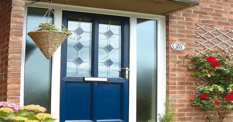Royal Blue Front Door Royal Blue Door Blue Shutters Exterior House Colors Popular Colors And