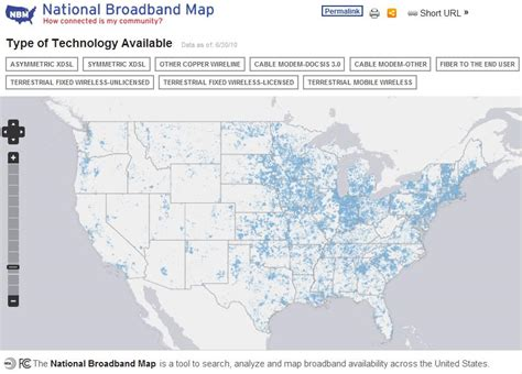 national broadband map national broadband map the data and technology