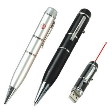Multipurporse Ballpoint Laser Pointer Flashdisk 16gb 1 pena multifungsi laser pointer flashdisk 16gb black