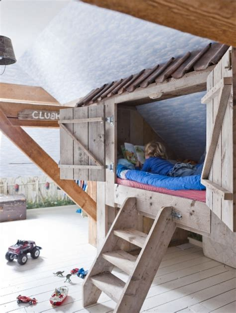 clubhouse bunk bed inspired spaces for kids handmade charlotte
