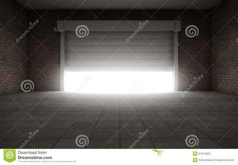 Old Empty Garage Stock Photography   Image: 31314922