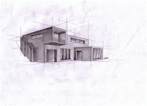 modern house drawing architecture modern house 2 by teamedwardsabr10 on deviantart