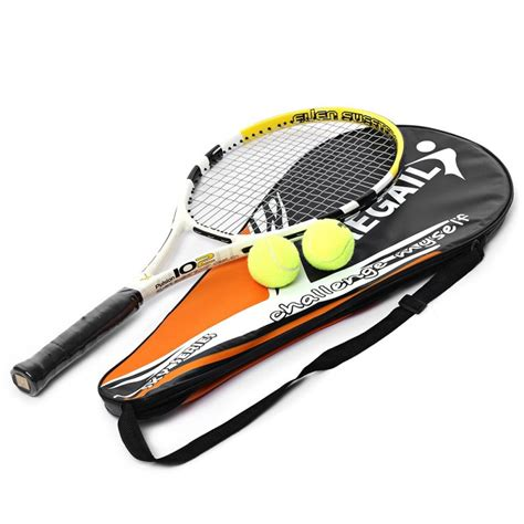 Raket Carbon regail durable tennis racket carbon aluminum alloy frame professional tennis racket suitable