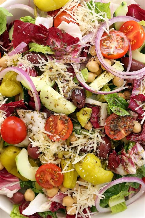 Best Detox Grilled Chopped Salad by Italian Chopped Salad The Harvest Kitchen