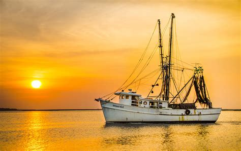 the shrimp boat island girl shrimp boat photograph by island sunrise and