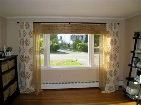 curtain ideas for wide windows drapery rods for wide windows drapery curtain ideas