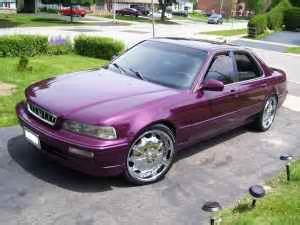custom car acura legend pictures