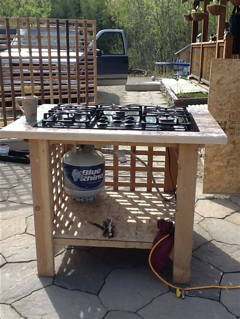 Outdoor Cooktop Propane by My Outdoor Stove Log Furniture Outdoor Stove Outdoor