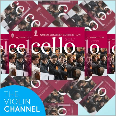 Cello Giveaway - vc giveaway win 1 of 5 queen elisabeth international cello competition commemorative