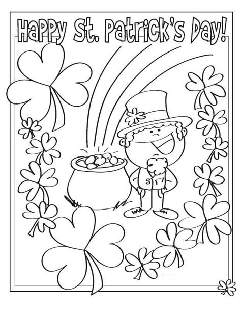 st day coloring pages free free printable st s day coloring pages