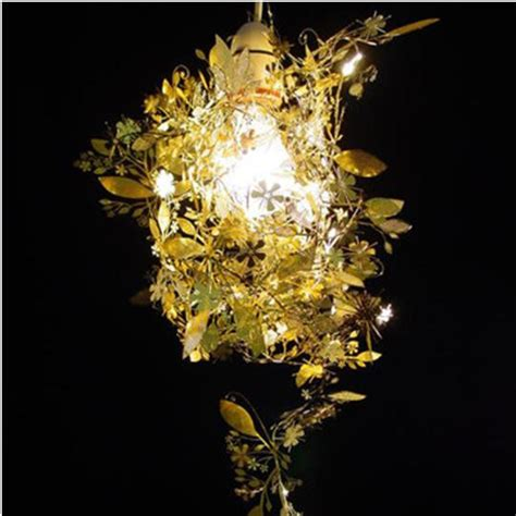 tord boontje s garland light shade by habitat flower l