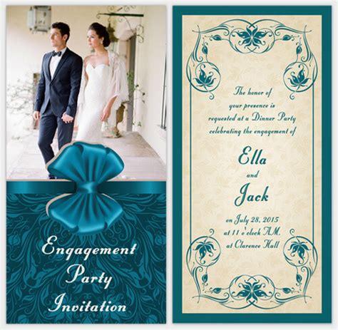 Engagement Invitation Card Maker Free engagement ideas with free invitation cards