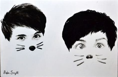 wallpaper dan cat pics for gt dan and phil cat whiskers