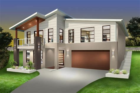 house floor plans sloping blocks denman split level sloping block marksman homes illawarra and southern highlands