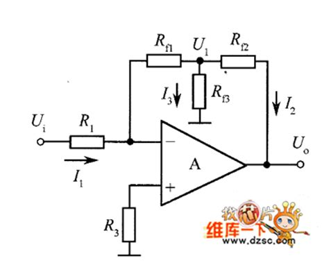 resistor network ic the inverting lifier circuit diagram with t resistor network replacing r2 lifier