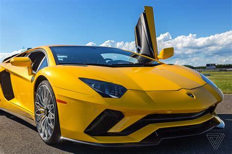 Lamborghini Writing The Lamborghini Aventador S Is For An Ultra Luxury