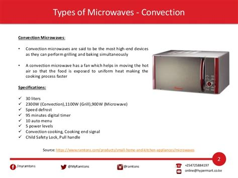 Microwave Hypermart how to use ramtons microwaves