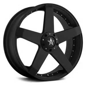 Car Tires And Rims Kmc 174 Rockstar Car Wheels Matte Black Rims