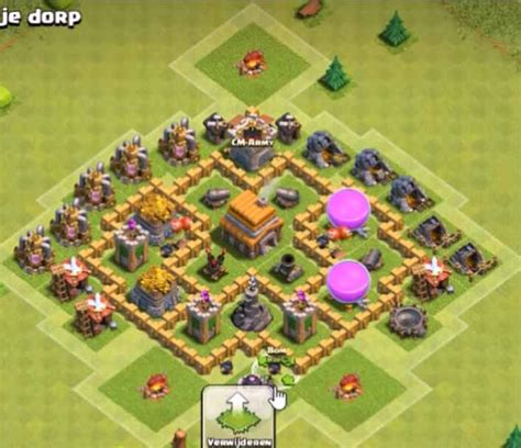 best layout in coc th5 7 best town hall th5 trophy bases anti giants 2018 new