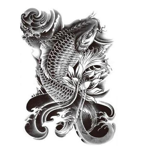 henna tattoo designs koi fish fish buddha set 2 large black