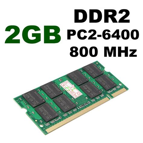 V Ddr2 2gb Pc 6400 10pcs 2gb ddr2 800 pc2 6400 non ecc sodimm notebook laptop memory ram 200 pin us stock lazada