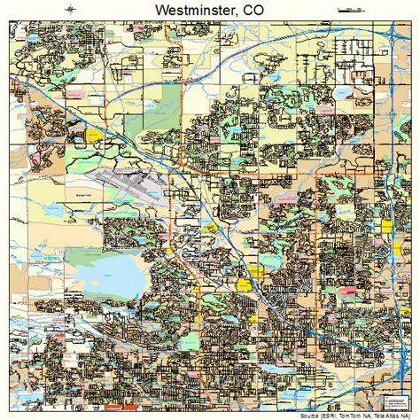 map of westminster westminster colorado map 0883835
