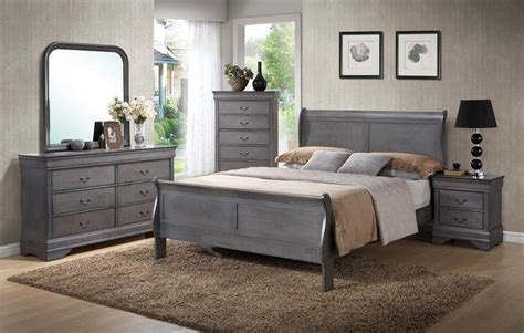 driftwood bedroom furniture driftwood gray sleigh bedroom set 171 mattress bed outlet