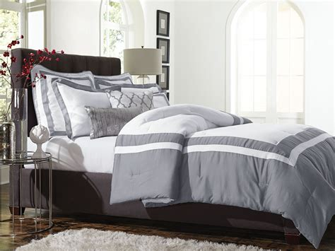 smith 5pc comforter set hotel frame alloy home