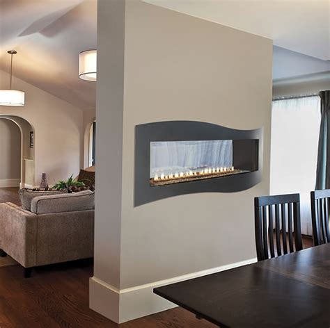 see thru ventless gas fireplace white mountain hearth ventless fireplaces fine s gas