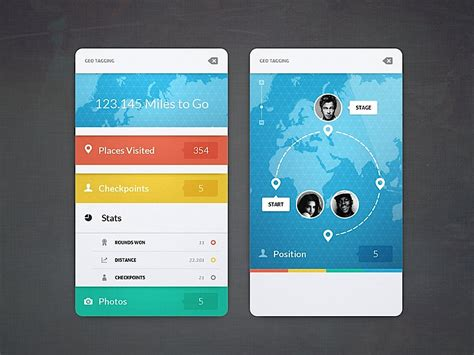 design inspiration ui creative ui design by cosmin capitanu