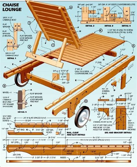 chaise lounge woodworking plans cedar chaise lounge plans diy pinterest