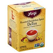 Dandelion Detox Tea Yogi With Ssri by Yogi Roasted Dandelion Spice Detox Tea Bags Shop Tea At Heb